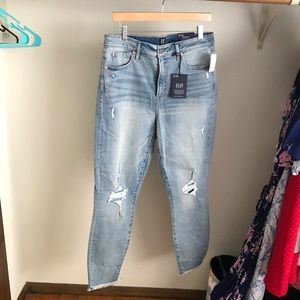 New never worn ankle jeans